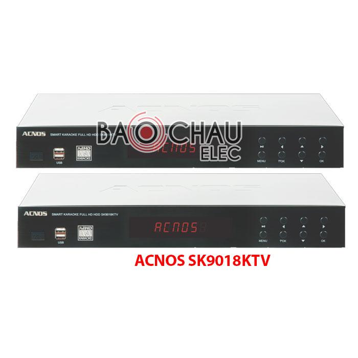 Đầu DVD karaoke ACNOS sk9018KTV