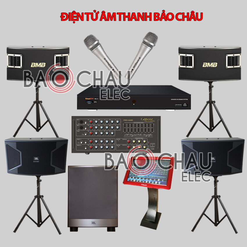 Bộ dàn karaoke BC-KD10