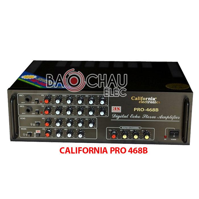 California PRO 468B