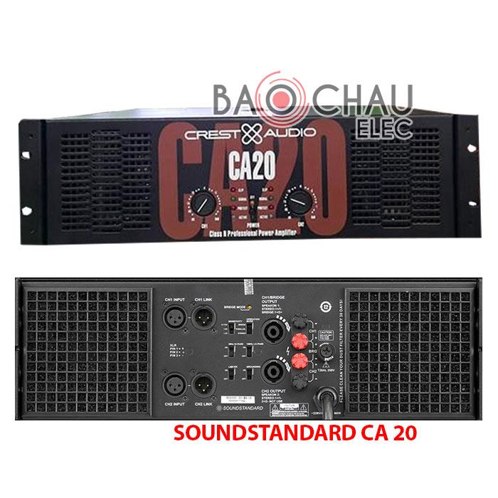 Cục đẩy Crest-audio CA 20