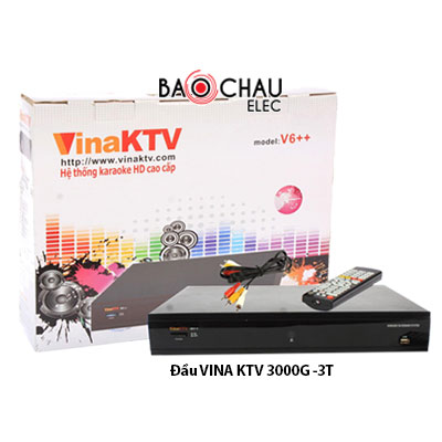 Đầu karaoke VinaKTV 3000G - 3T