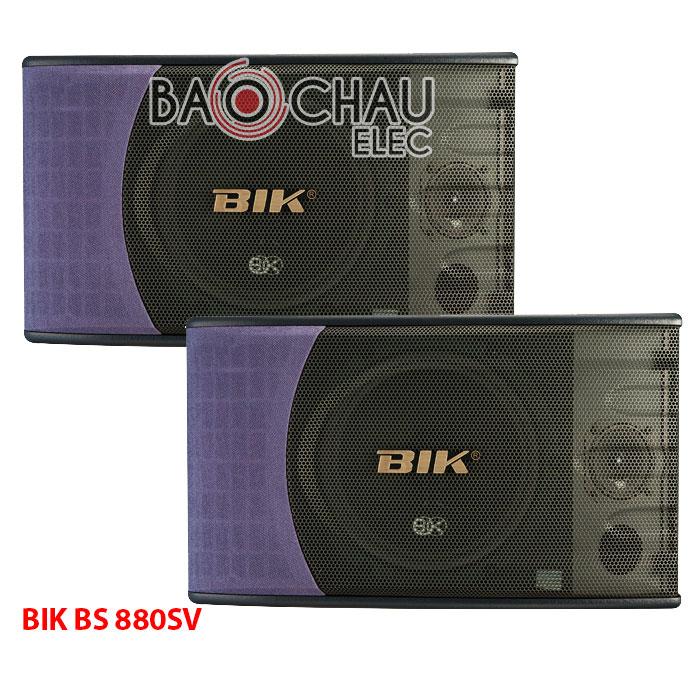 Loa BIK 880 – Loa karaoke Bik BS 880SV