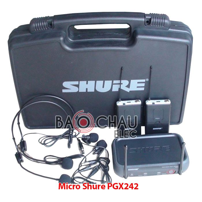 Micro không dây Shure PGX 242