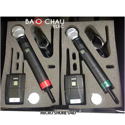 Micro Shure U4D