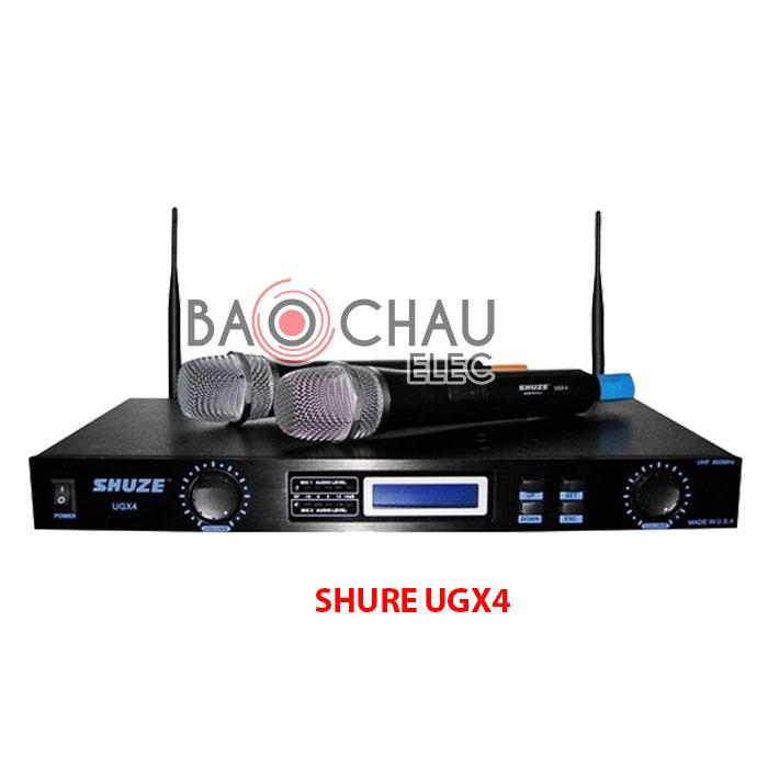 Microphones Shure UGX4