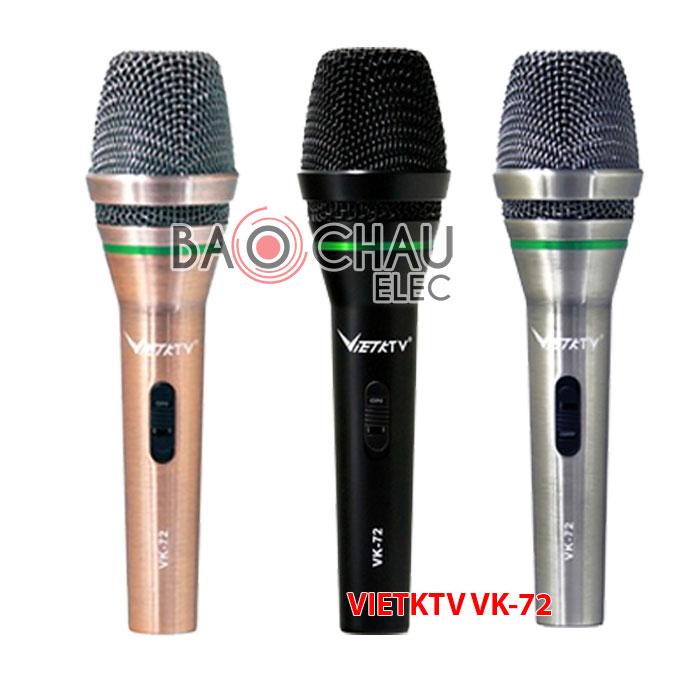 Microphone Vietktv VK-72