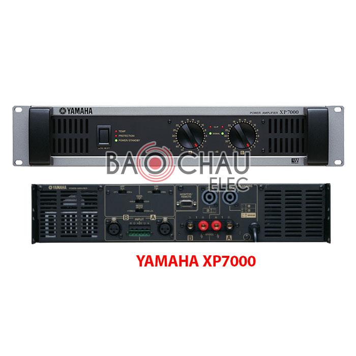 Main YAMAHA XP7000