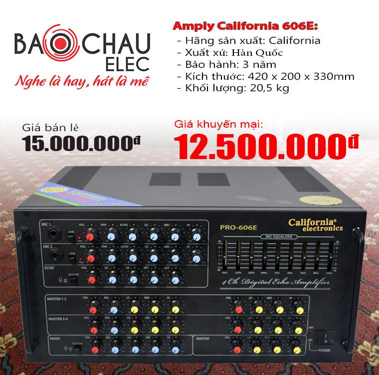 Amply karaoke nhập khẩu hay nhất tại Bảo Châu Elec