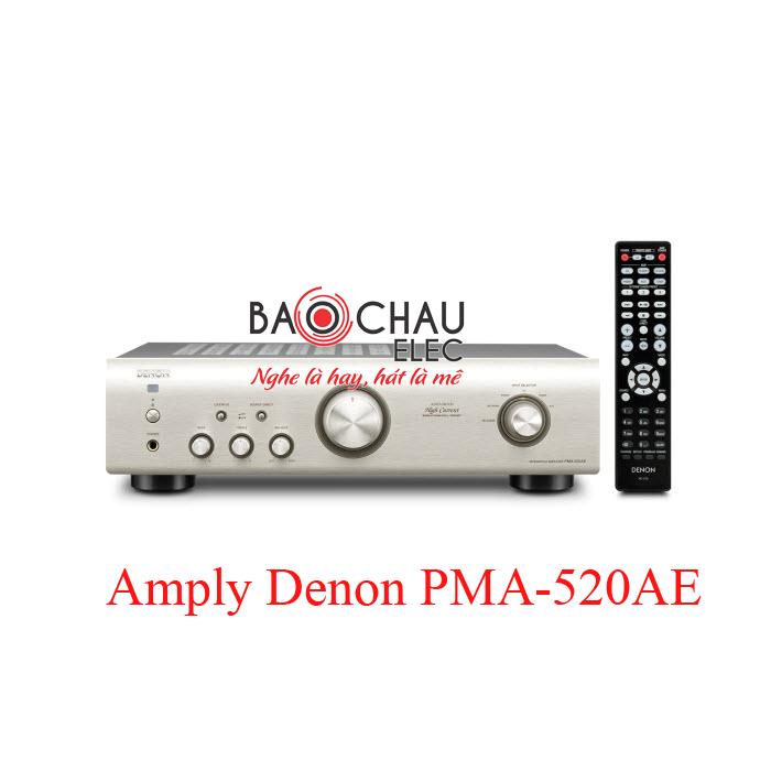 Amply-Denon-PMA-520AE