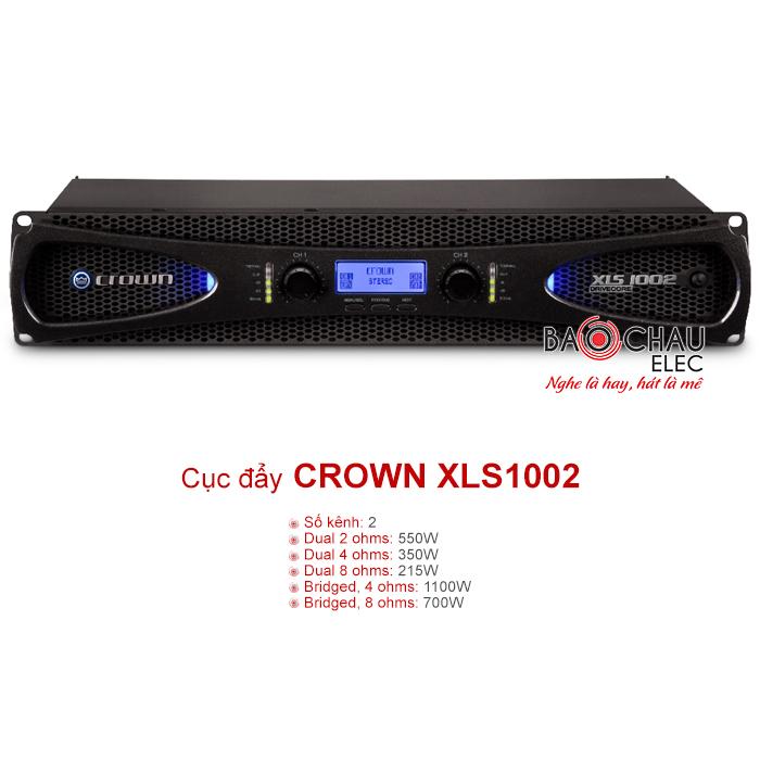 Cục đẩy Crown XLS 1002
