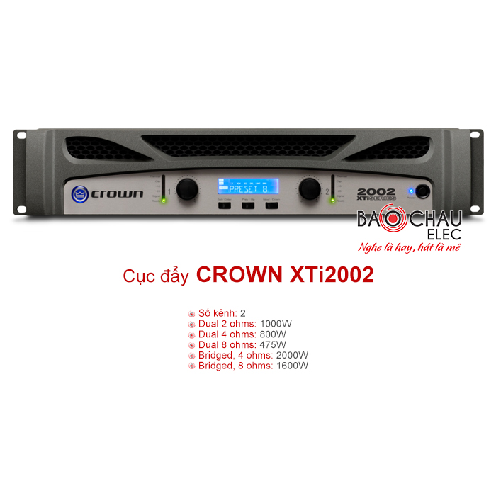 Cục đẩy công suất Crown XTi2002
