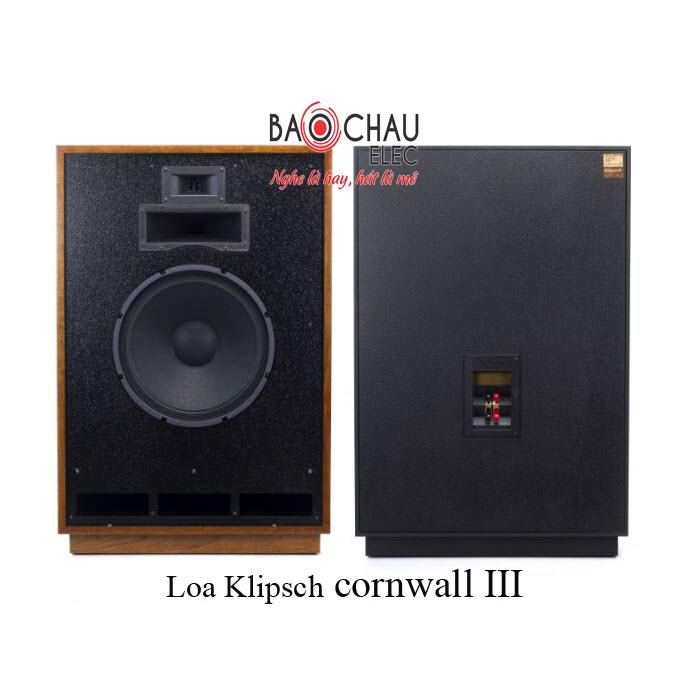Loa Klipsch cornwall III