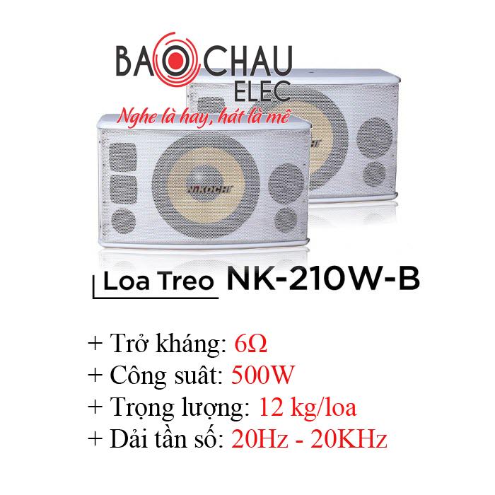 Loa Karaoke Nikochi 210WB