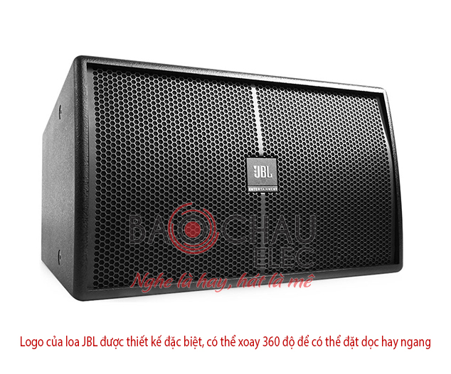 Logo JBL co the xoay 360 do