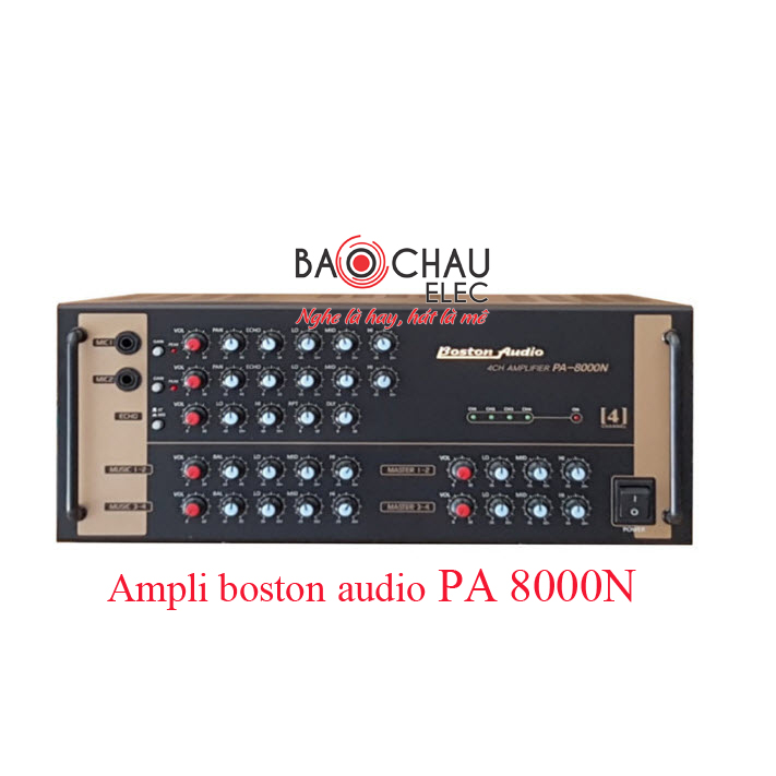 Ampli boston audio PA 8000N