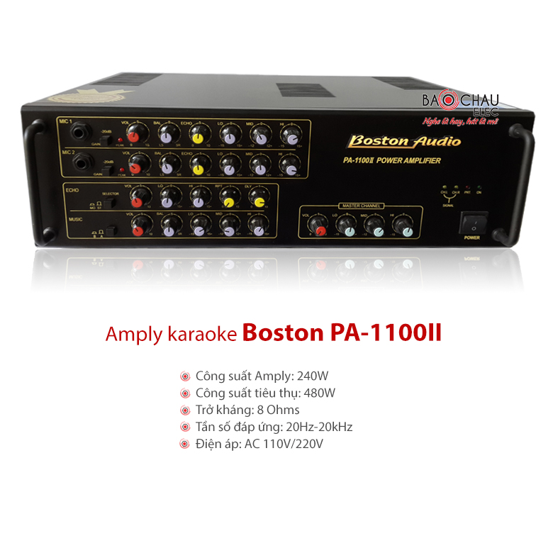 Amply Boston PA 1100II
