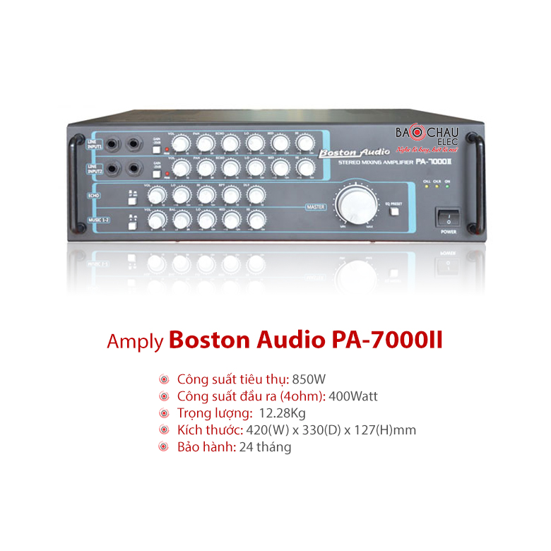 Amply Boston PA 7000II