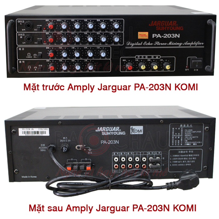 Amply Jarguar PA 203n komi