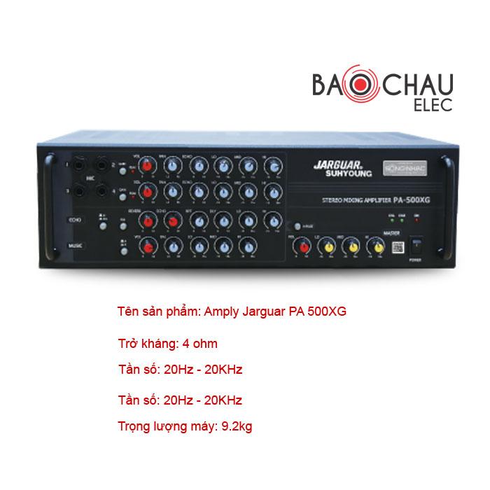 Amply Jarguar PA 500XG