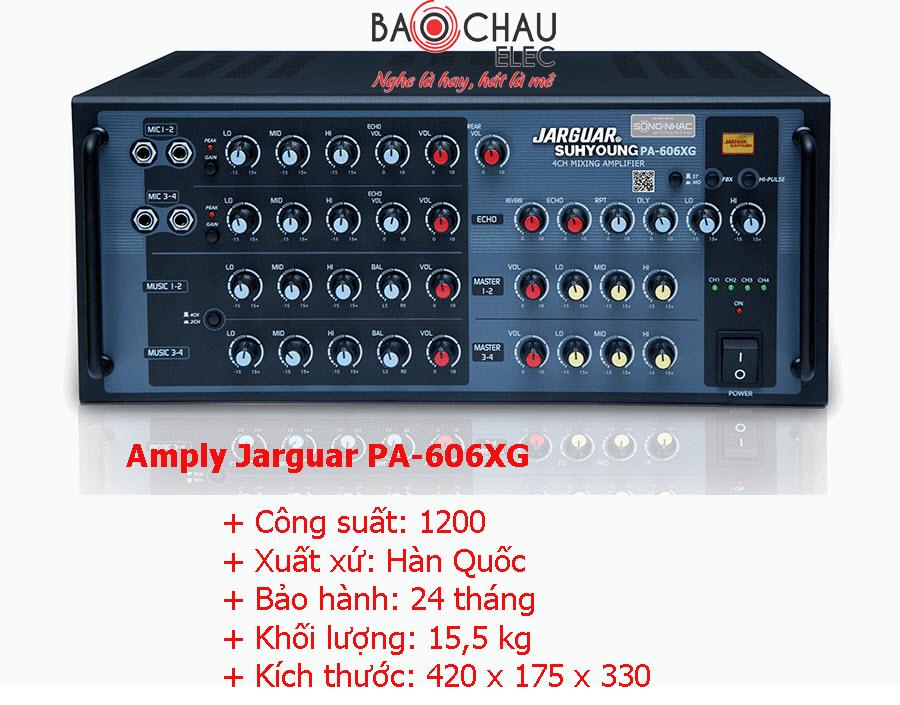 Amply Jarguar PA-606XG