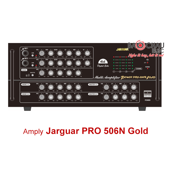 Amply Jarguar Pro 506N Gold