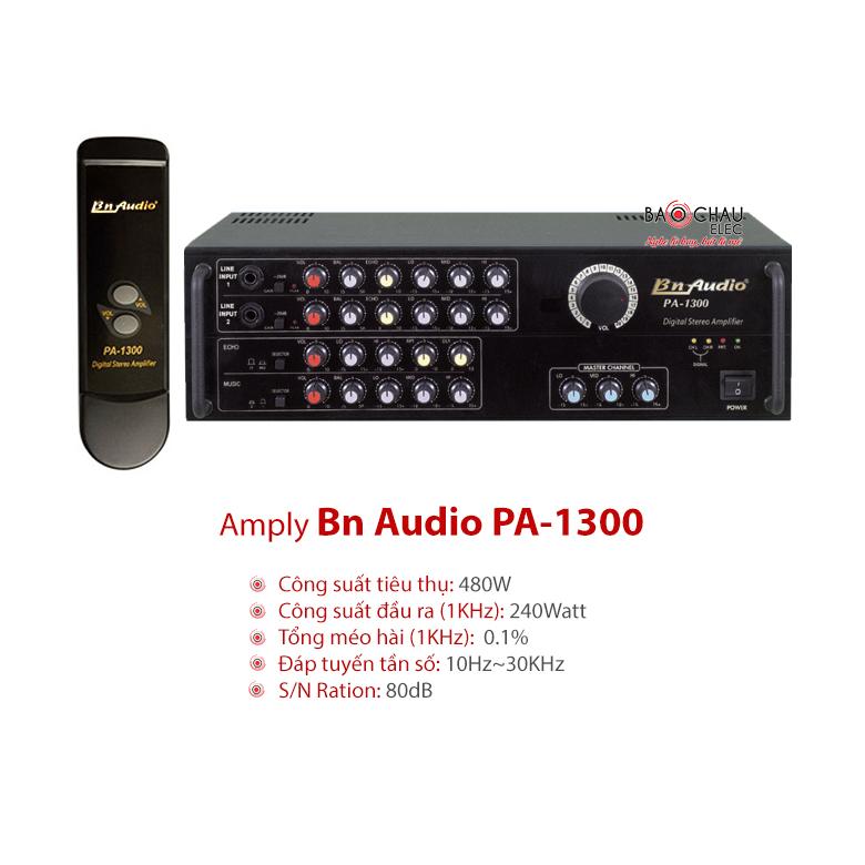 Amply karaoke Boston PA 1300