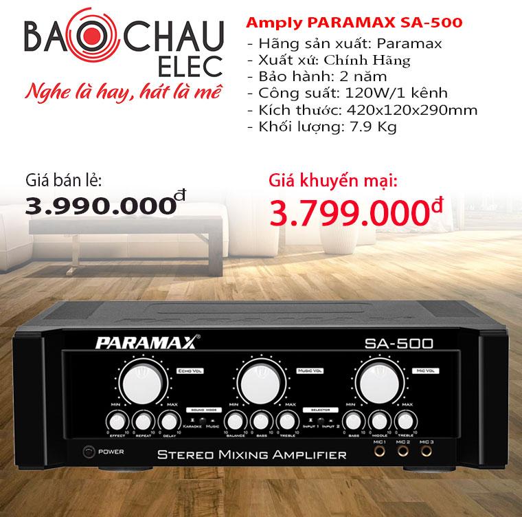 amply-karaoke-paramax-sa-500