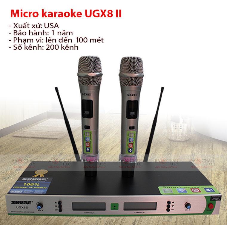Các mẫu micro shure có dây, không dây cao cấp giá rẻ