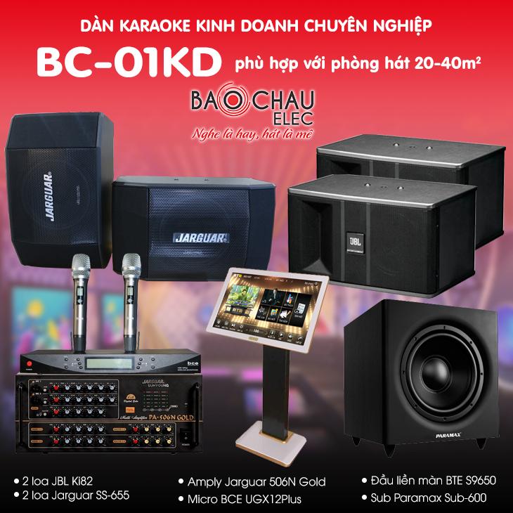 Dàn karaoke kinh doanh BC-01KD