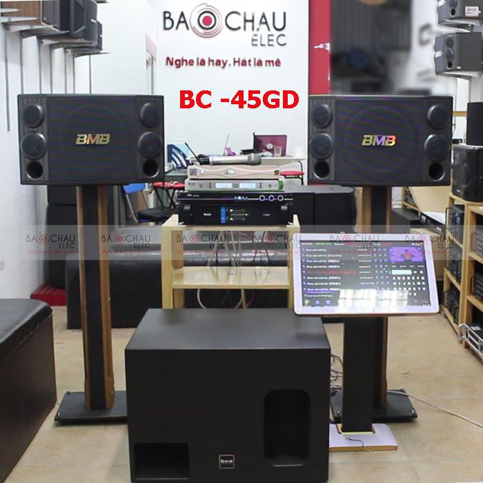 Bộ dàn karaoke gia đình cao cấp BC-45GD