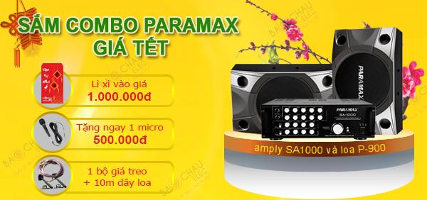 Combo Paramax SA1000 và P900 giá siêu rẻ tại Bảo Châu elec