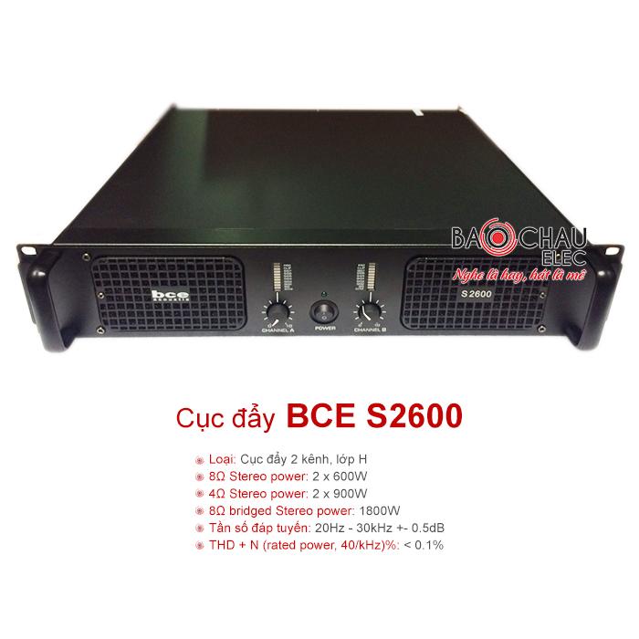 Cục đẩy BCE S2600