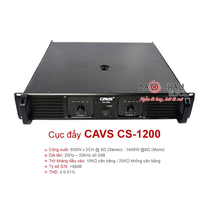 Cục đẩy CAVS CS-1200
