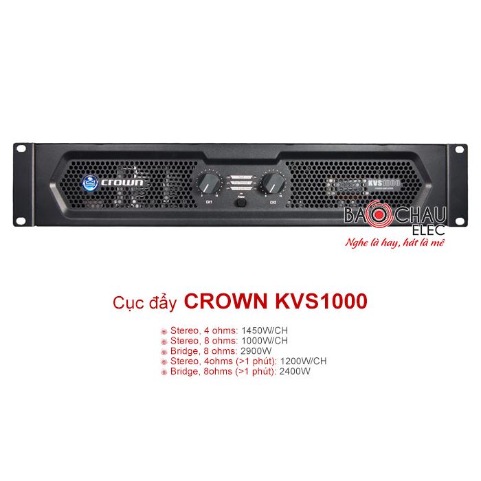 Cục đẩy Crown KVS1000