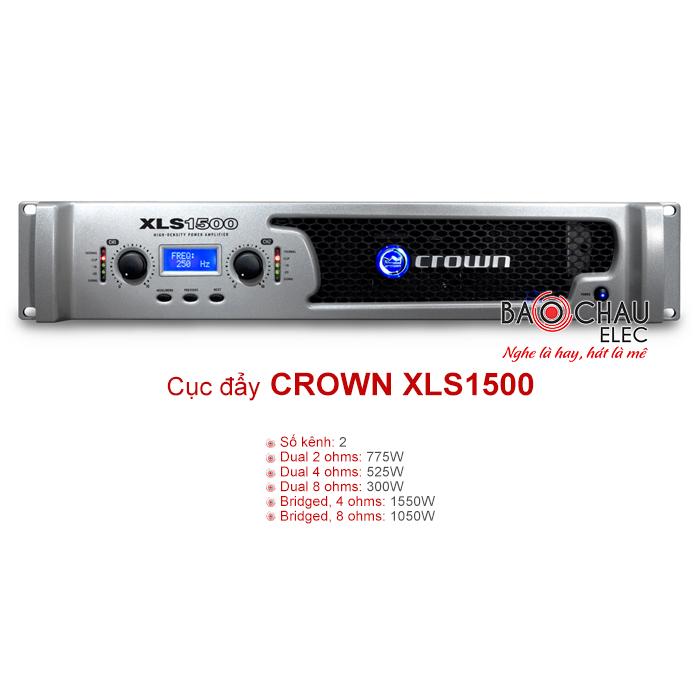 Cục đẩy Crown XLS 1500