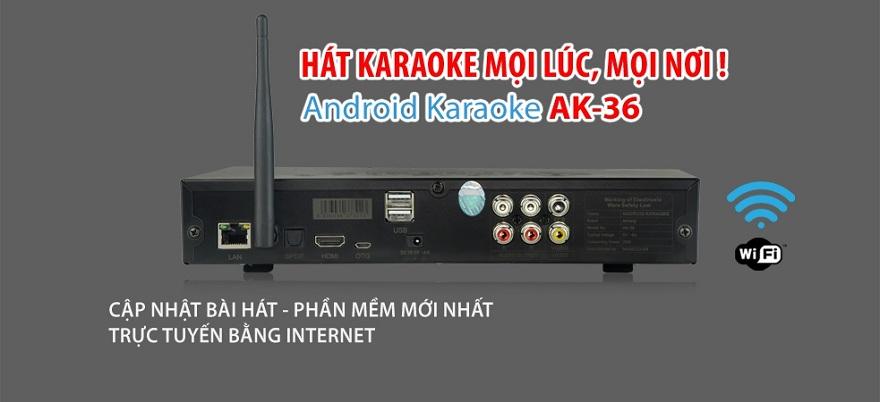 Đầu karaoke Arirang AK-36