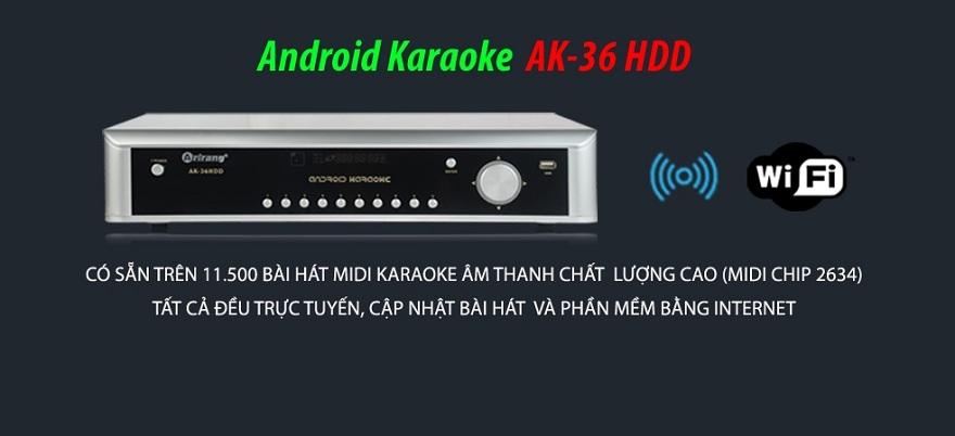 Đầu karaoke Arirang AK-36HDD