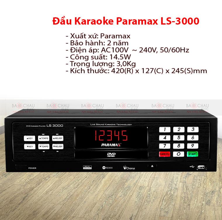 Đầu Paramax LS 3000