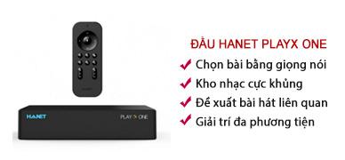 Đầu karaoke Hanet VOD PlayX One 1TB