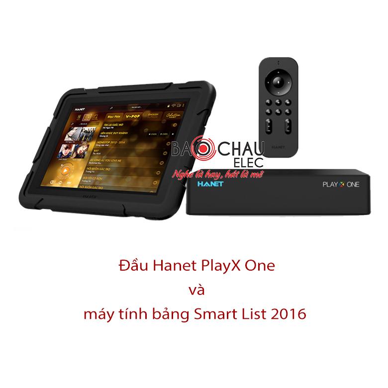 Bộ đầu Hanet PlayX One Air Edition và Smart List 2016