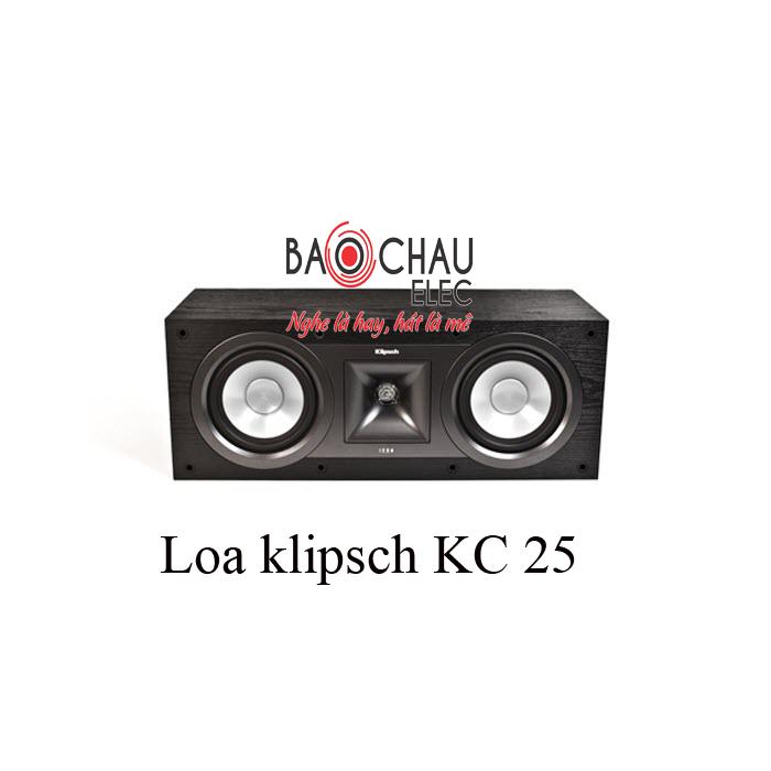Loa klipsch KC 25