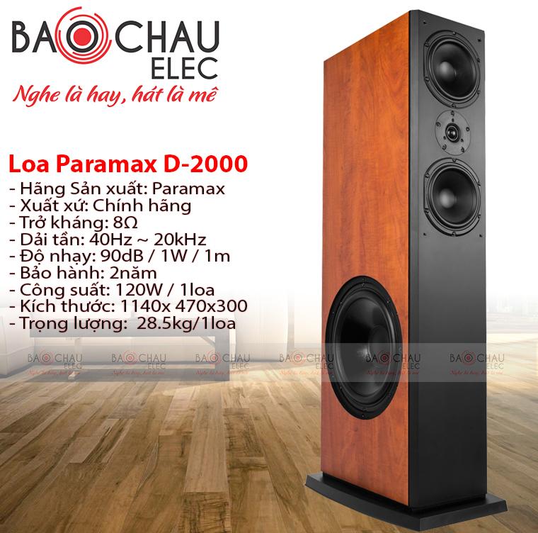 loa-paramax-d2000