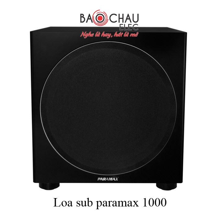 Loa sub paramax 1000