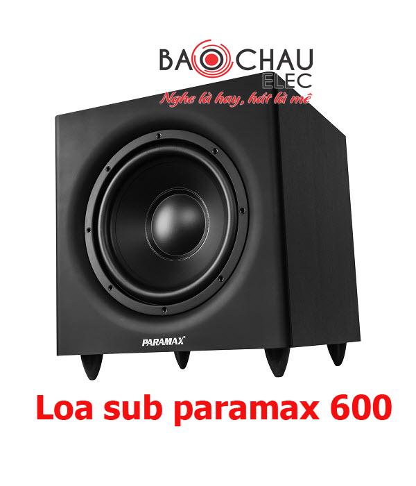 Loa sub paramax 600