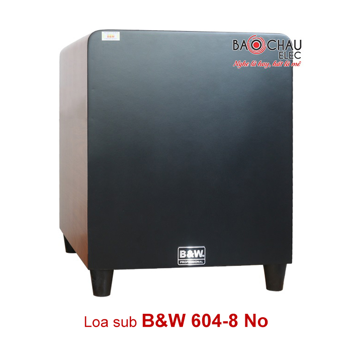 Sub B&W 604 8No