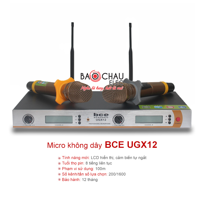 Micro BCE UGX12