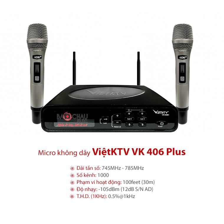 Micro VietKTV VK 406 Plus