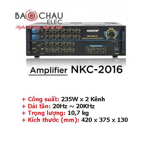 Amply Nikochi 2016