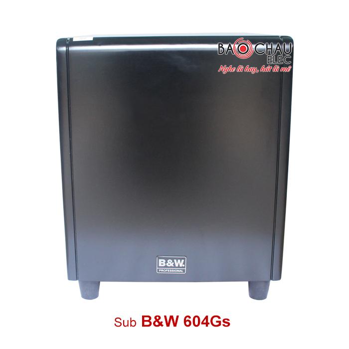 Sub B&W PRO 604G
