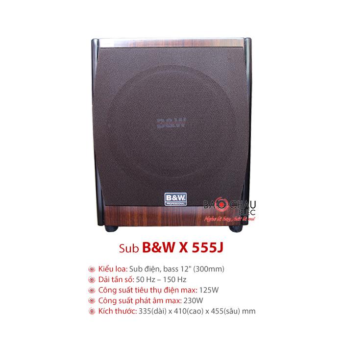 Loa sub B&W X555J